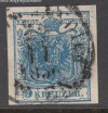 Österreich Mi. Nr. 5 Y Wappenzeichnung ohne Wz o