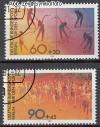 Berlin 1981 Mi. Nr. 645 - 646 o Sporthilfe