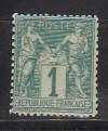 Frankreich Mi. Nr. 56 I  ** Allegorien 1 C