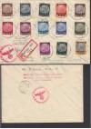 Besetzung II. WK Generalgouvernement Satzbrief Mi. 1-13 ( B 336 )