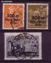 DR Mi. Nr. 258 - 260 o Rhein- und Ruhrhilfe 1923