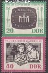DDR Mi. Nr. 923 - 924 ** Deutscher Fernsehfunk