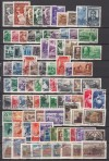 Sowjetunion Lot kompletter o Ausgaben 1948 - 1950 ( S 1166 )