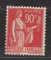 Frankreich Mi. Nr. 279 ** Darstellung 90 C