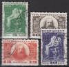 Sowjetunion Mi. Nr. 476 - 479 o  Mendelejew