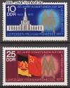 DDR Mi. Nr. 1743 - 1744 ** Frühjahrsmesse 1972