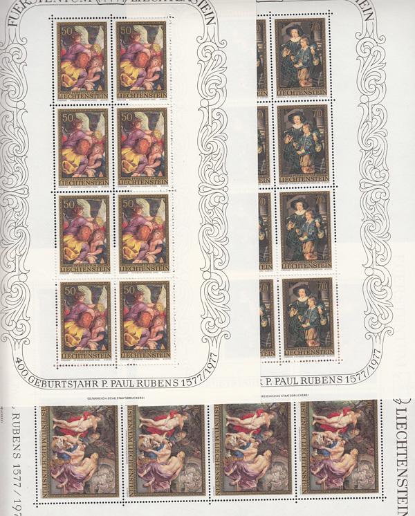Liechtenstein Postfrisch ** Jahr 1982 Minr Europa Liechtenstein 791-815