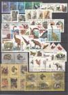 Tiermotive Lot postfrische komplette Ausgaben  ( S 1571 )