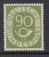 Bund Mi. Nr. 138 ** Super Marke Posthorn 90 Pfennig