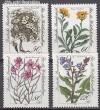 Bund Mi. Nr. 1188 - 1191 ** Alpenblumen