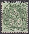 Schweiz Mi. Nr. 32 Sitzende Helvetia 25 C o