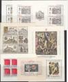 Tschechoslawakei Lot Block Ausgaben ** 6 verschiedene ( S 1567 )