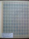 SBZ Ostsachsen Mi. Nr. 54 a ** blau 20 Pfennig Ganzbogen