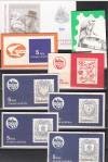 Tschechoslawakei Lot 8 verschiedene Markenheftchen  ** ( S 1568 )