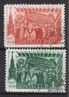 Sowjetunion Mi. Nr. 1397 - 1398 o  Oktoberrevolution