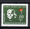 DDR Mi. Nr. 592 ** Clara Zetkin