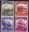 DR Mi. Nr. 580 - 583 o 100 Jahre Eisenbahn