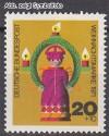 Bund Mi. Nr. 709 ** Weihnachten 1971