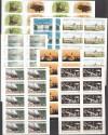 Bund Lot 7 verschiedene  Folienblätter **  ( S 2171 )