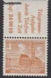 Zusammendruck Berliner Bauten 1949 Zd - Mi. S 8 **