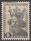 Liechtenstein Mi. Nr. 247 Schutzpatron Luzius **