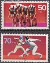 Berlin 1978 Mi. Nr. 567 - 568 ** Sporthilfe