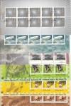 Schweiz 6 erschienene Kleinbogen 2004 o Sonderstempel