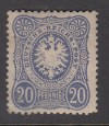 DR  Mi. Nr. 34 a ** geprüft 20 Pf(e) Reichsadler