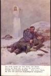 Feldpostkarte I. Weltkrieg Vergib uns unsere ..... (F21)