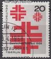Berlin 1968 Mi. Nr. 321 o Deutsches Turnfest