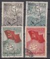 Sowjetunion Mi. Nr. 584 - 587 o  Nordpol 1