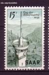 Saarland Mi. Nr. 369 ** Tag der Briefmarke 1956