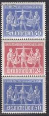 Gemeinschaftsausgaben 1948 Zusammendruck S Zd 4 **