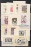 Tschechoslawakei Lot Block Ausgaben 1963 - 1969 ** komplett ( S 1562 )