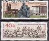 DDR Mi. Nr. 1513 - 1514 ** Briefmarkenausstellung