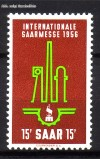 Saarland Mi. Nr. 368 ** Saarmesse 1956