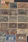 Lot Notgeld 18 Stück aus dem Harz ( 64 )