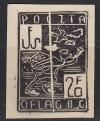 Kriegsgefangenenlagerpost Woldenberg Mi. Nr. 2 (*) Schwarzdruck