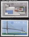 Bund Mi. Nr. 1321 - 1322 ** Moderne Architektur