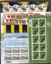 Schweiz 6 Stück Kleinbogen 2011 - 2012 ** ( S 2245 )