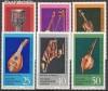 DDR Mi. Nr. 1708 - 1713 ** Musikinstrumente