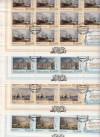 Russische F�rderation Kleinbogensatz 4 KB o Russische Flotte 300 Jahre