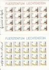 Liechtenstein Kleinbogen Mi. Nr. 1013 - 1014 ** Loyola Todestag