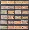 DDR Dienstmarken B Mi. Nr. 16 - 31 u. III - X ** komplett Billettform